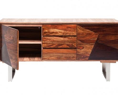 Sideboard aus Sheesham-Holz