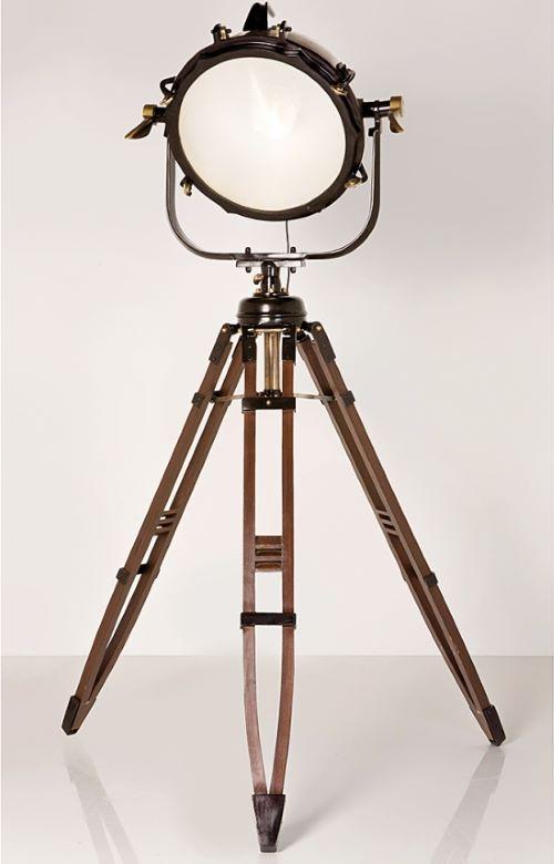 Stehlampe SL Spot Jumbo Brass