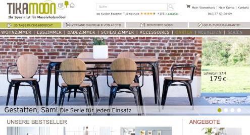 Tikamoon Möbel aus Massivholz