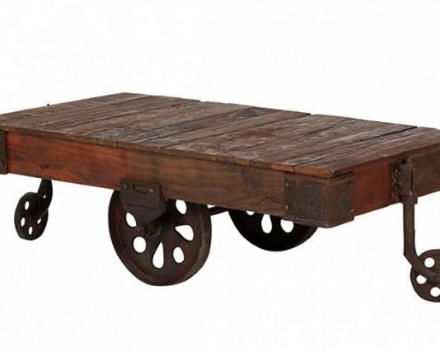Ein Couchtisch wie ein Wagon