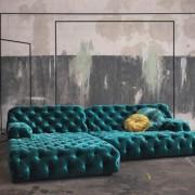 Liegebett COCA ISLAND Sofa der Firma Bretz