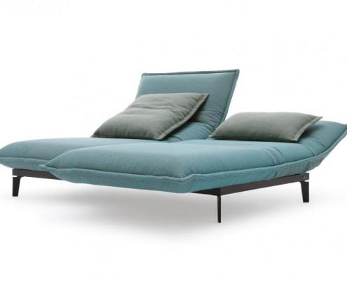 Sofa NOVA von Ralf Benz mit elektrisch verstellbarer Longchair Funktion