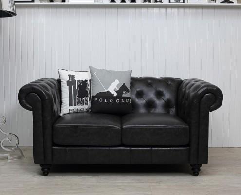 Das Sofa macht auch in einer modernen Umgebung gute Figur