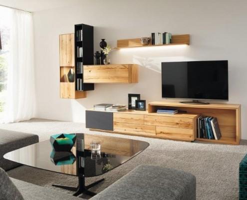 Wohnwand und Sideboard PURO