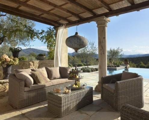Lounge Möbel für den Garten