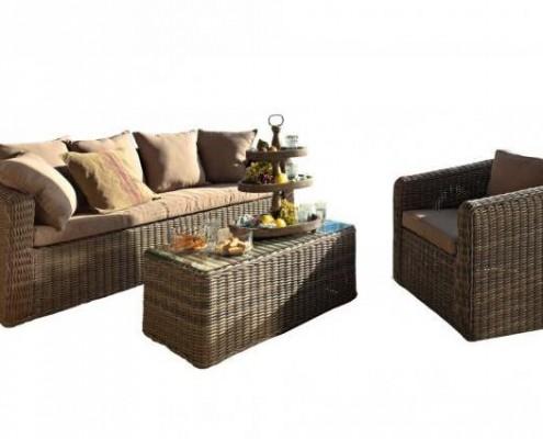 Lounge Möbel für den Garten - Sitzgruppe Kensington Place