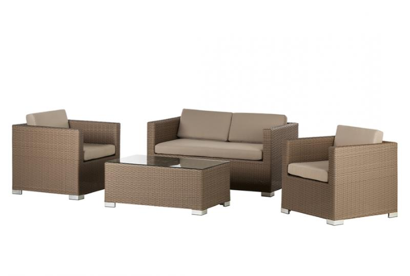 gartenmoebelset rattanesco puca 1 design m bel. Black Bedroom Furniture Sets. Home Design Ideas