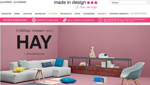 made in design design m bel. Black Bedroom Furniture Sets. Home Design Ideas
