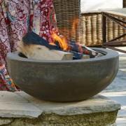 Feuerschale aus Stein