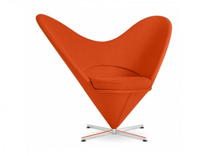 Heart Chair von Verner Panton
