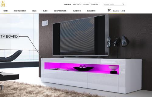 vladon m bel design m bel. Black Bedroom Furniture Sets. Home Design Ideas