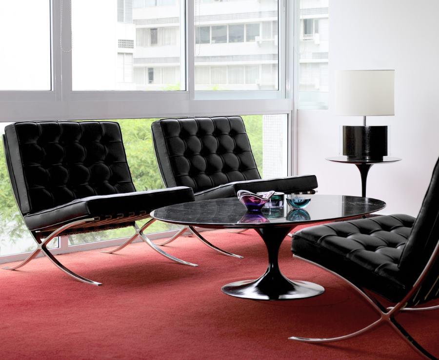 barcelona sessel knoll design m bel. Black Bedroom Furniture Sets. Home Design Ideas