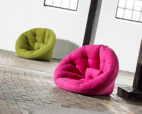 Der Schlafsessel Nest Cocoon ist ein schöner Sessel