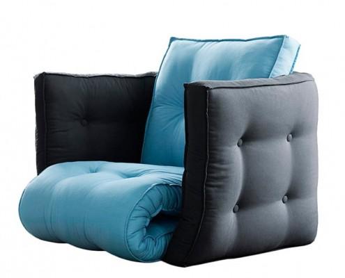 Dice als Sofa