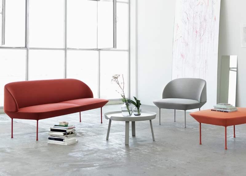 Die Oslo Serie im skandinavischen Möbeldesign