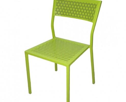Pulverbeschichteter Sessel für den Balkon
