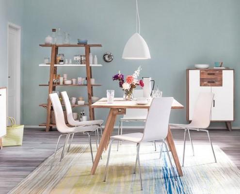 Esszimmer im skandinavischen Möbeldesign