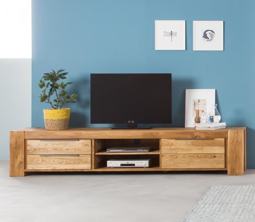 lowboard aus massiv eiche design m bel. Black Bedroom Furniture Sets. Home Design Ideas
