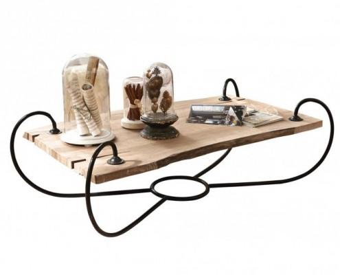 51 Kilo Couchtisch im rustikalen Design
