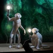Tischlampen in Affenform
