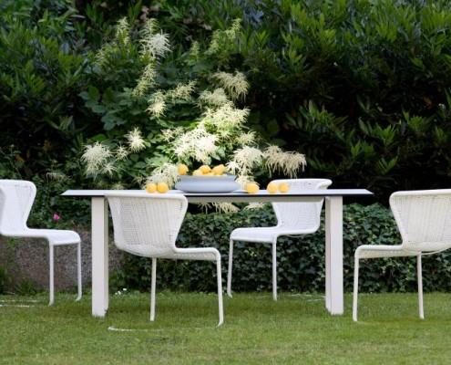 Gartenset in weiß, hohe Qualität zu einem günstigen Preis