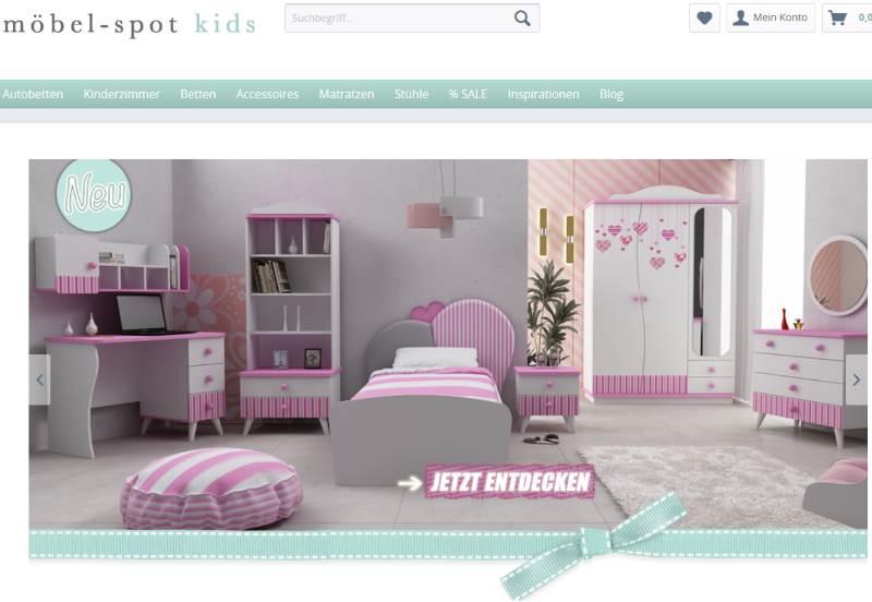 Möbel Spot Kids Shop für Kindermöbel