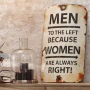 Dekotafe für Frauen und Männer