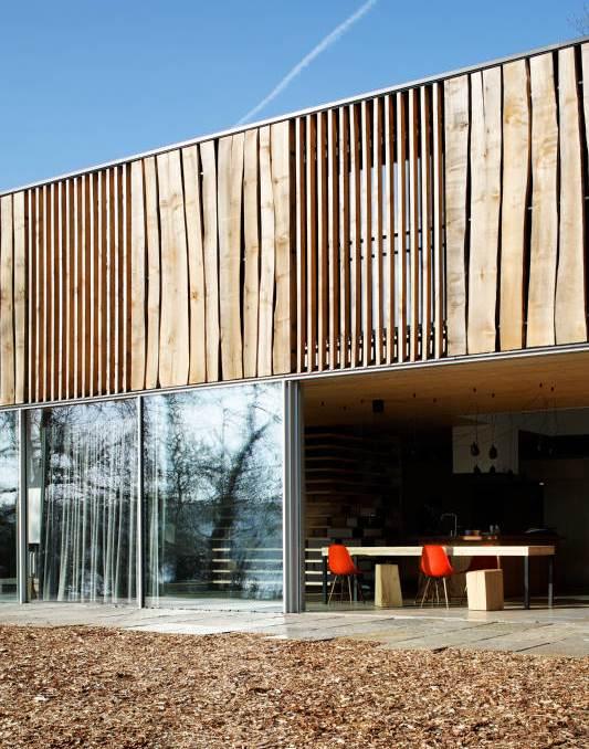 Ebenerdige terrasse vom d haus design m bel for Haus einrichtungsplaner