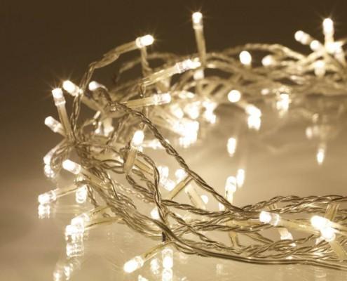 Lichterketten für Weihnachten