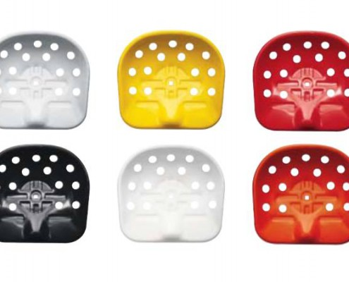 Der Mezzadro Hocker ist in unterschiedlichen Farben erhältlich