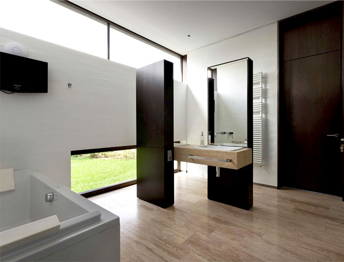 badezimmer mit waschbecken design m bel. Black Bedroom Furniture Sets. Home Design Ideas