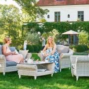 Sitzgarnituren für den Garten