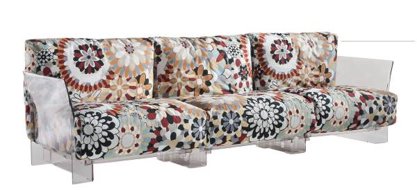 Pop Missoni Sofa 3-Sitzer