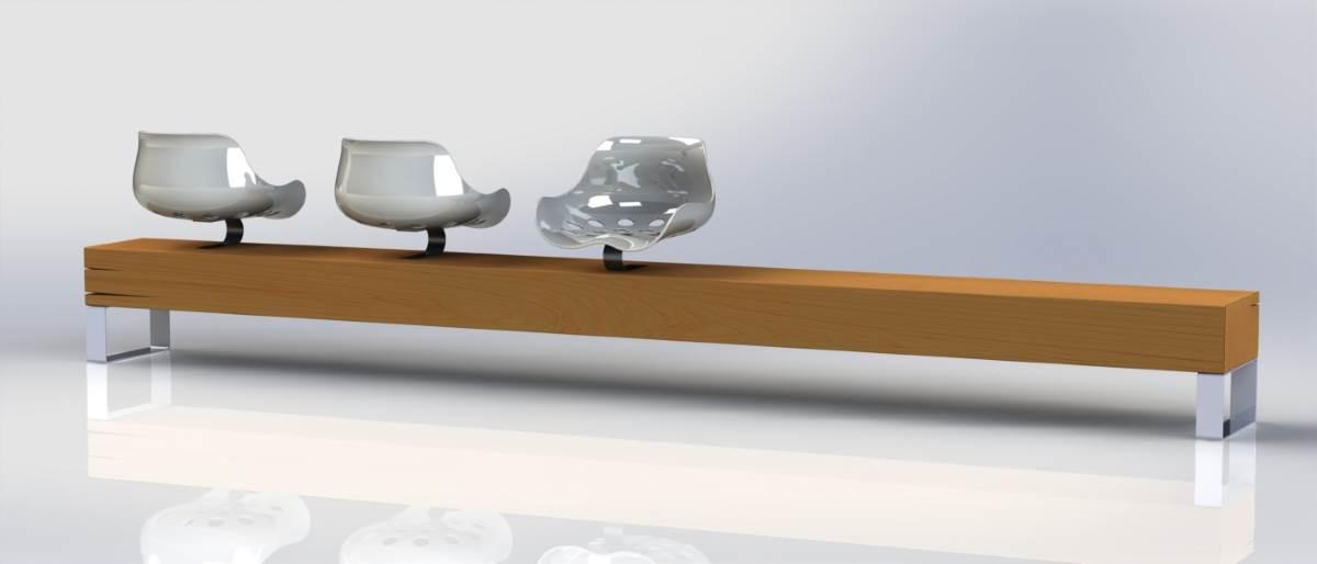 sitzbank f r den ffentlichen bereich design m bel. Black Bedroom Furniture Sets. Home Design Ideas