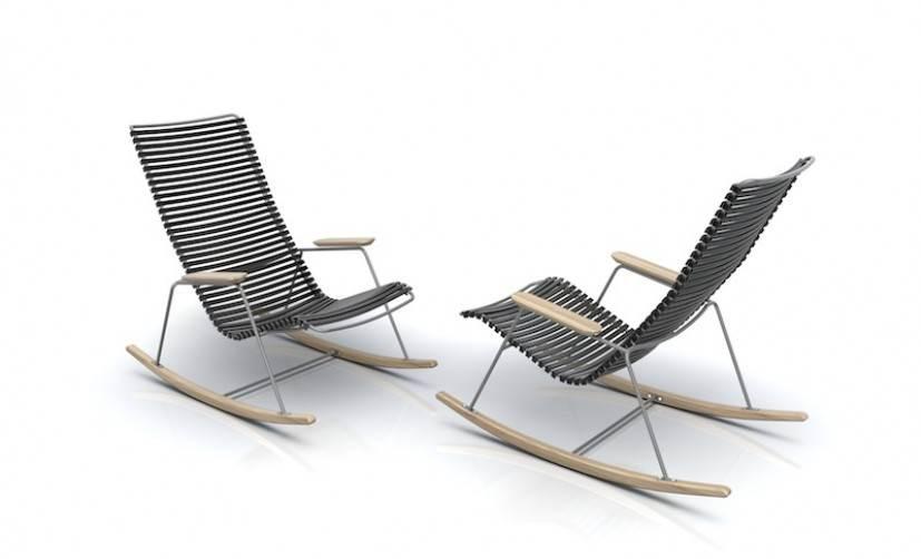 Gartenstuhl und schaukelstuhl von houe design m bel for Schaukelstuhl designer