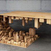 Wave City Couchtisch - speziell für Architekten