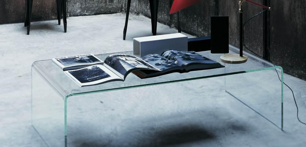 curvi couchtisch glas im minimalistischem design design. Black Bedroom Furniture Sets. Home Design Ideas
