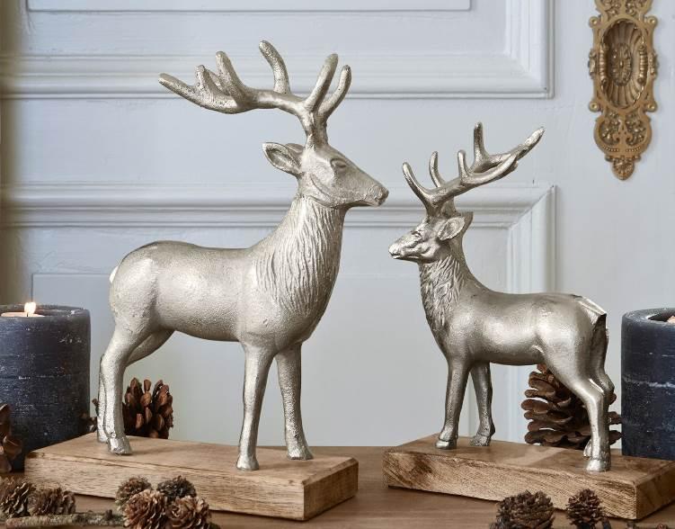 Weihnachtsdeko Hirsche