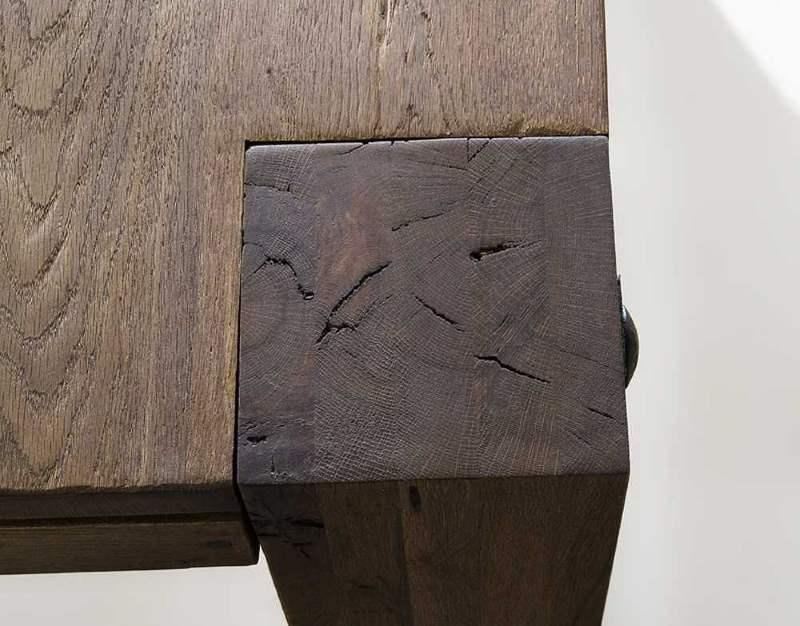 Wunderschöner Esstisch aus Massivholz verwittert
