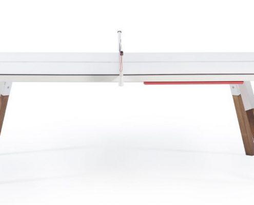 Esstisch weiß Hochglanz oder auch Tischtennistisch