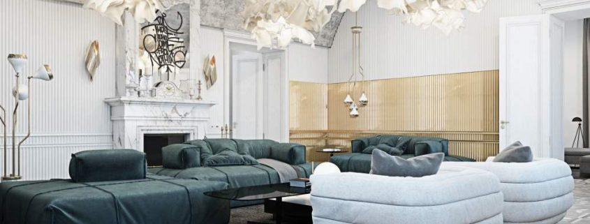 Tolle Wohnzimmereinrichtung aus Italien