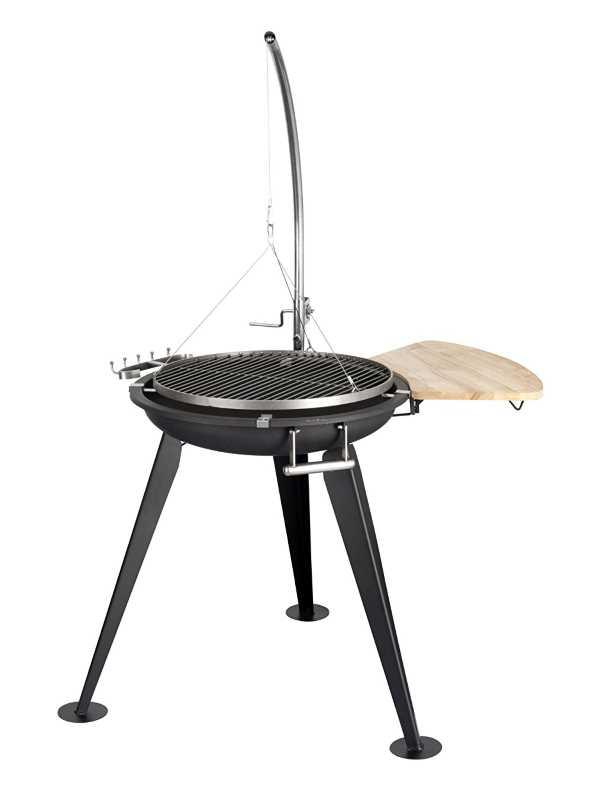 schwenkgrill grillen am lagerfeuer design m bel. Black Bedroom Furniture Sets. Home Design Ideas
