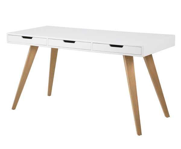 schreibtisch lanna wei design m bel. Black Bedroom Furniture Sets. Home Design Ideas