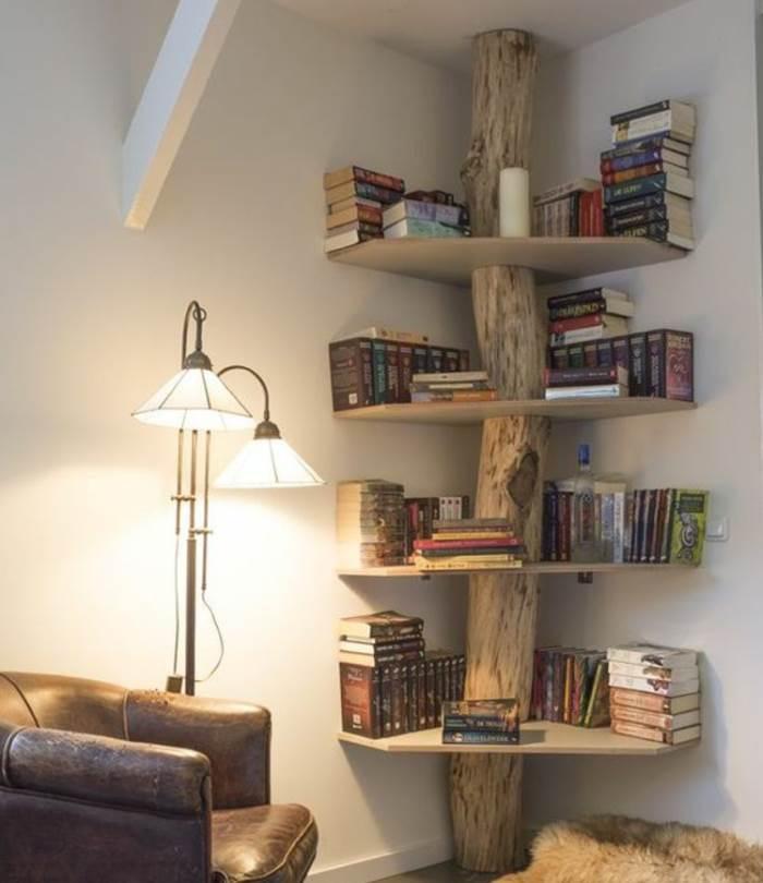 Tolles Bücherregal