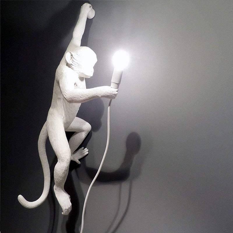 Affenlame für die Wand