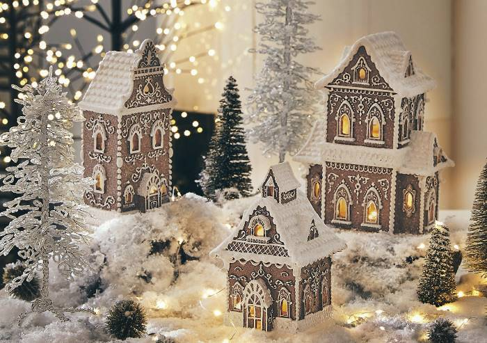Weihnachtsdeko Häuser