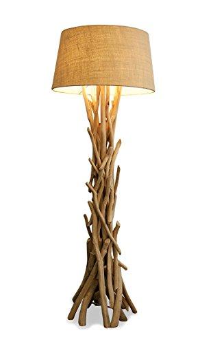 Stehlampe mit Treibholz