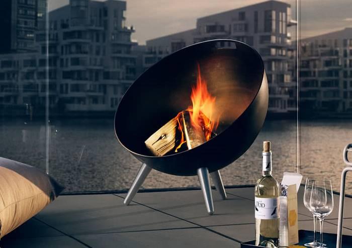 FireGlobe-Feuerschale