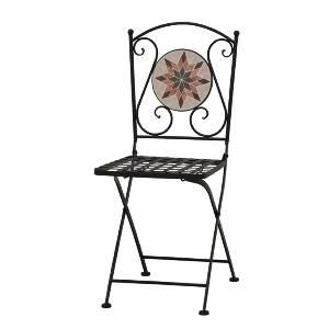 Gartenklappstuhl aus Metall