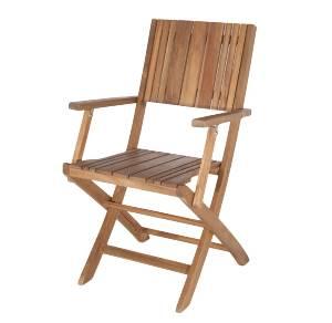 Gartenklappstuhl aus Holz